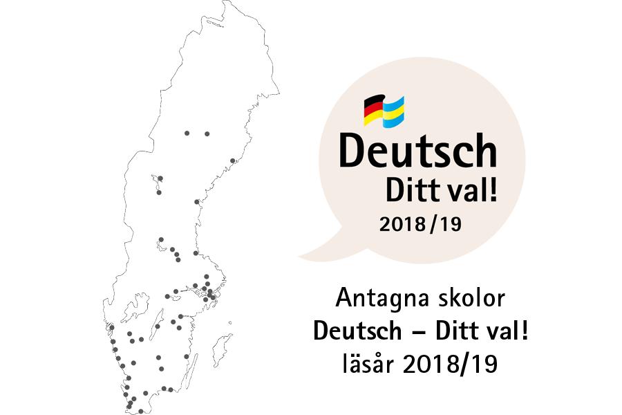 Antagna skolor Deutsch – Ditt val! läsår 2018/19