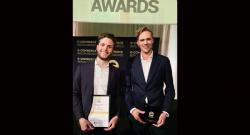 Joakim von Oldenskiöld und Mikael Johansson beim E-Commerce Germany Awards