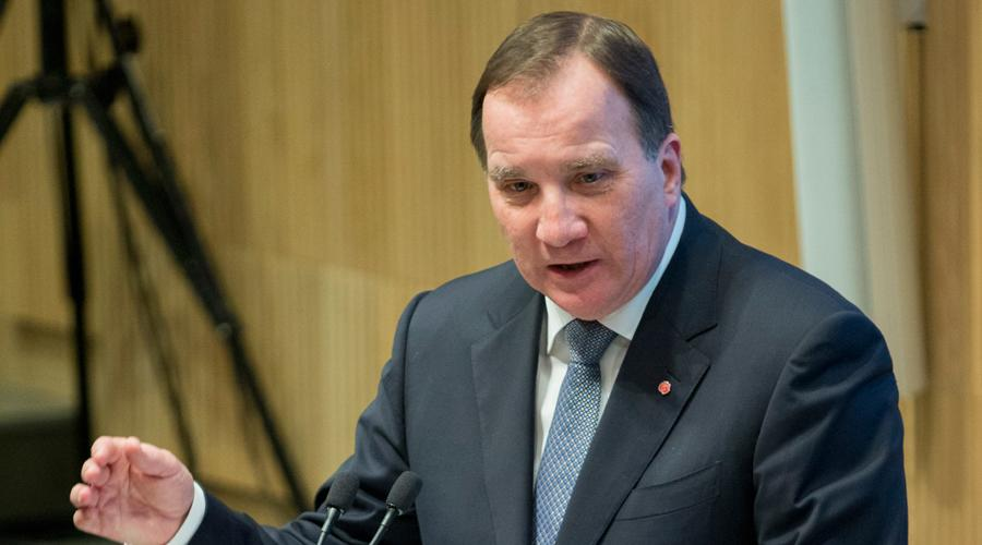 Schwedens Ministerpräsident Stefan Löfven beim German Swedish Tech Forum
