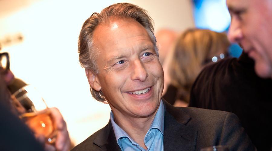 Erik Askensjö på Tysk-Svenska Handelskammarens Chairman's New Year Reception 2018.