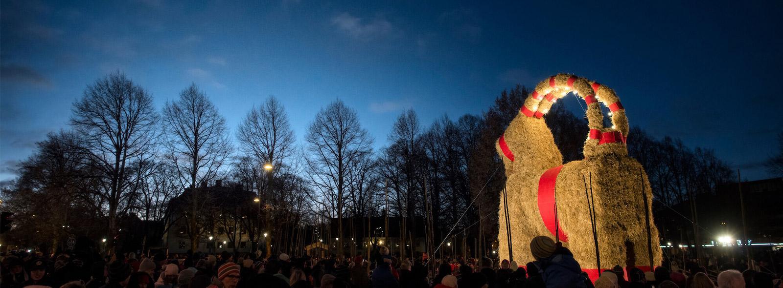 Wir wunschen euch frohe weihnachten schwedisch