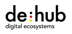 Logo der de:hub initiative
